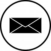 image of telegram  - mail symbol - JPG