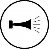símbolo de bocina / bocina