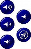 controla el volumen del sonido botones
