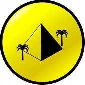 pyramid button