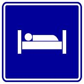 picture of goodnight  - sleeping in bed sign - JPG