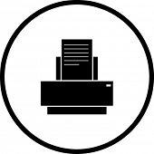 printer symbol
