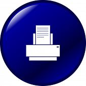 printer button