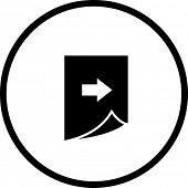 page change symbol