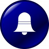 image of idiophone  - bell button - JPG