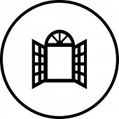 open window symbol