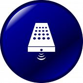 botón de control remoto