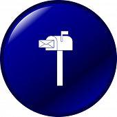 botón de buzón