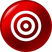 bullseye button