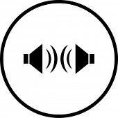 stereo sound symbol