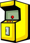 picture of video game controller  - arcade videogame - JPG