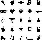 diverse symbols set