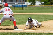 Baseball Pickoff Attempt