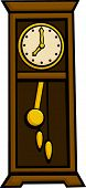 grandfather pendulum clock