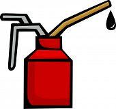 spout oiler applicator