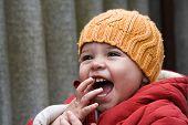 Baby Girl Laughin