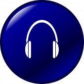 heaphones button