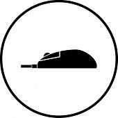 computer mouse symbol