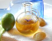 Green lime and oil for alternative therapy