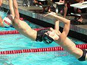Boys Swim Competition