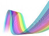 3D Color Lines Waves