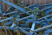 Agricultural Machinery In Storage / Agricultural Machinery In Storage poster