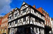 Ancient Half-timbered Building