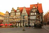 Town Square in Bremen Germany