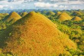 View of The Chocolate Hills. Bohol, Philippines
