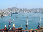 business cargo russian port Vladivostok