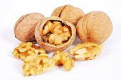 Nuts As Background Texture