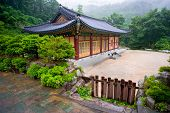 picture of seoraksan  - The building of Buddhist Sinheungsa Temple in Seoraksan National Park - JPG