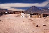 buildings in San Pedro de Atacama, Chile