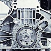 engrenagem do motor do carro