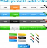 Web designers toolkit - metallic edition