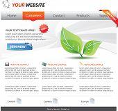 Plantilla Web 2.0