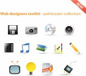 Web designers toolkit - pathmaster icon series