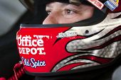 DAYTONA BEACH, FL - FEB 14:  Tony Stewart prepares himself for the Daytona 500 race at the Daytona I