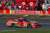 CONCORD, NC - May 30:  Jamie McMurray's Bass Pro Chevrolet sits at the Coca-Cola 600 Race at the Cha