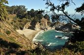 The Beach at McWay Falls in Big Sur, Julia Pfeiffer Burns State Park California