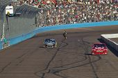 AVONDALE, AZ - NOV 14:  For the second time in as many days, Cal Edwards wins the Kobalt Tools 500 r