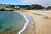 Swanpool Beach, Falmouth Cornwall UK.