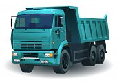 great detailed dumper truck 06