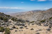 Keys View, A Scenic Desert Viewpoint In Joshua Tree National Park, Shows A Beautiful View Of The Coa poster