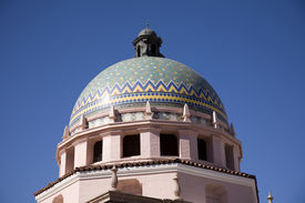 foto of pima  - Dome at the Pima county courthouse - JPG