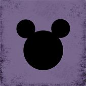 Purple Grunge Mouse