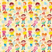 Children background.