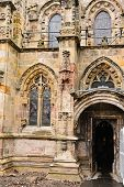 Entrance to Roslyn Chapel