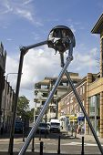 Woking Martian Sculpture