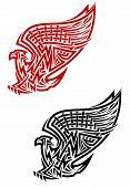 Greif-Symbol im keltischen Stil